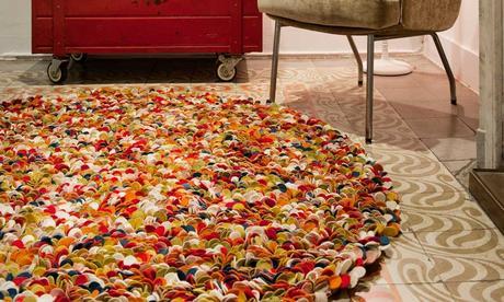 Decoraci n infantil sukhi alfombras artesanales para la - Alfombras habitacion nino ...