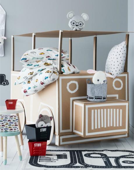 Animalitos y geometr a para dormitorios infantiles - Dormitorios infantiles nordicos ...