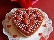 Tarta Valentin: Queso, Chocolate Fresas