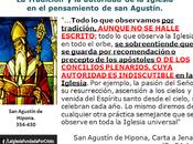 autoridad Tradición Iglesia Agustín.