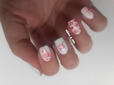 Diseños De Uñas Con Corazones Para San Valentín Paperblog