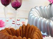 Pink velvet heart bundt cake