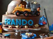 Tarta juguete zanahoria chocolate (chocolate carrot cake)