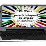 24 Webs útiles para la búsqueda de empleo en Internet