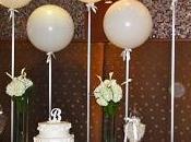 Imagenes como adornar globos para bautizo niña