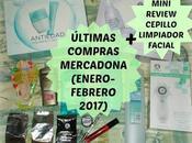 Últimas compras Mercadona(Enero-Febrero 2017) Mini Review Cepillo Limpiador facial