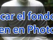 Desenfocar fondo fotografía Photoshop