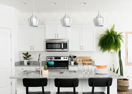 Cómo decorar una cocina abierta para integrarla en el salón ...