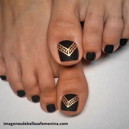 Imagenes Con Los Mejores Diseños De Uñas Para Pies De Mujer