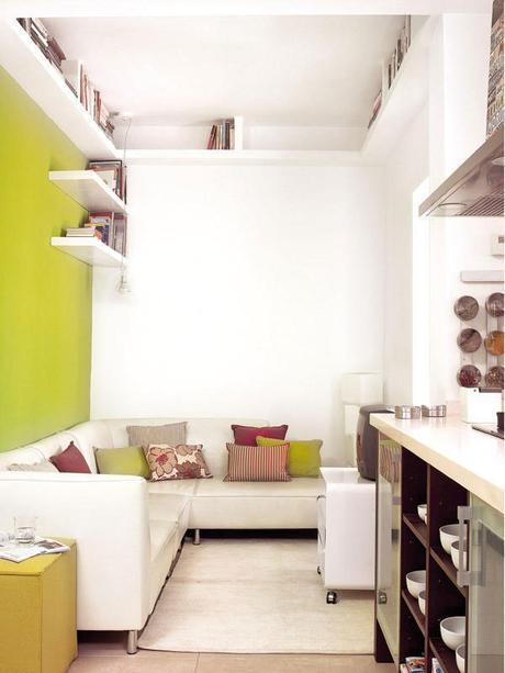 Ideas para aprovechar espacios peque os paperblog - Ideas para espacios pequenos ...