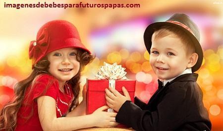 imagenes de niños y niñas felices tiernos