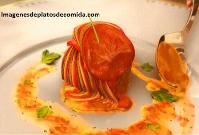 platos de comida animados ratatouille