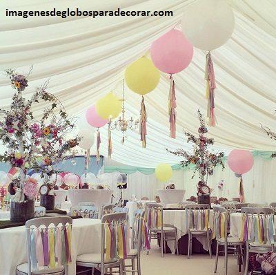 arreglos de globos de boda fotos