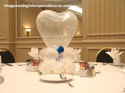 arreglos de globos de boda civil