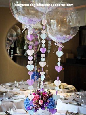 arreglos de globos de boda decoracion