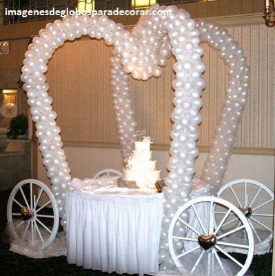 arreglos para boda civil con globos decoracion