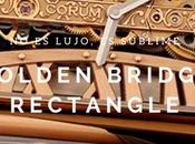 lujo, sublime... Golden Bridge Rectangle Corum
