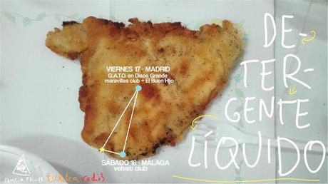 [Recomendaciones Telúricas] Javier Álvarez + Nieves Arilla - Café De las Artes Teatro (Santander) // Detergente Líquido + El Buen Hijo - Sala Maravillas (Madrid) // Clara Plath + Magictostadora - Héroe Café (Madrid)