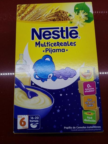 Nuevos Multicereales 'Pijama' de Nestlé