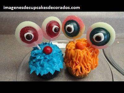 cupcakes decorados con crema niños