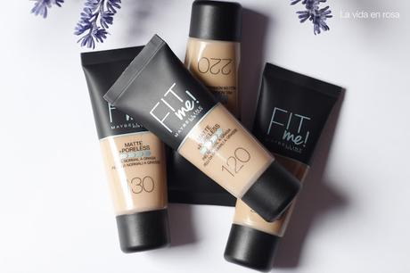 FIT me! Matte+Poreless de Maybelline