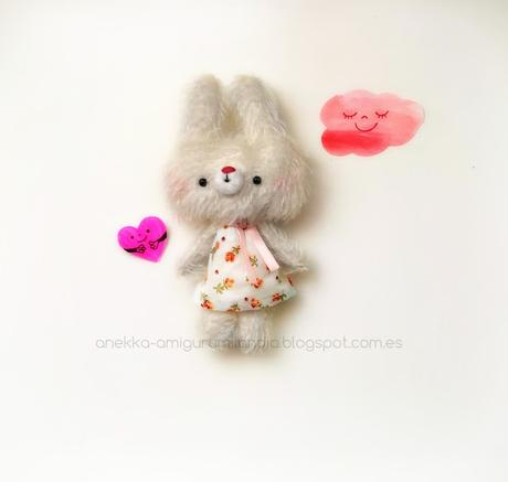 love mohair plush doll
