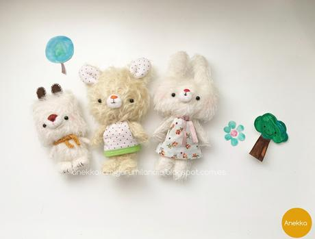 plush doll mohair collection