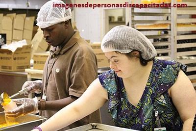 imagenes de personas discapacitadas trabajando laboral