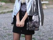 Silver jacket fishnet