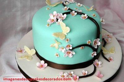 tortas decoradas para el dia de las madres flores