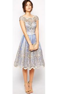 Model Gaun Pesta Brokat Panjang Dan Pendek Paperblog