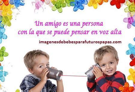 imagenes de niños con mensajes bonitos guapos