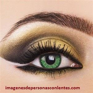 imagenes de lentes de contacto verdes colores