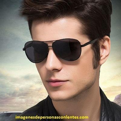 fotos de hombres con lentes de sol polarizadas