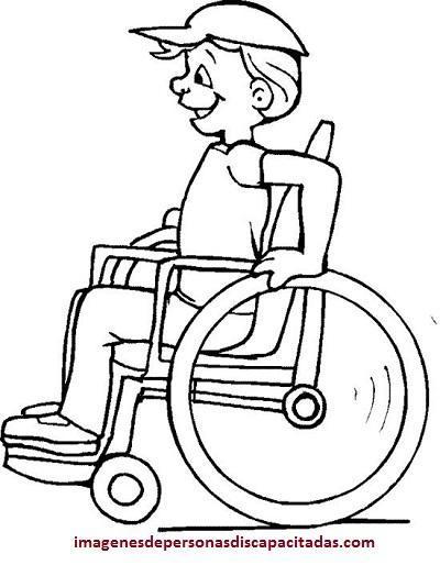 dibujos de discapacitados para imprimir dibujar