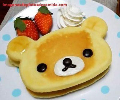 comida con formas para niños desayuno