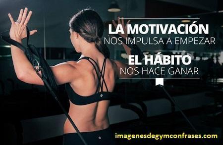 imagenes con frases de mujeres en el gym motivacion