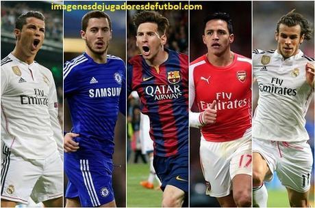 collage de jugadores de futbol futbolistas