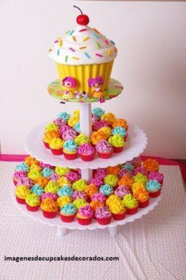 imagenes de pasteles con cupcakes gigante