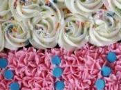 Cuatro imagenes pasteles cupcakes para cumpleaños