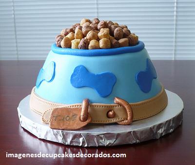 pastel de cumpleaños para perros carne