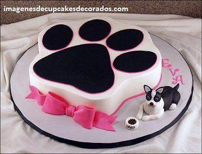pastel de cumpleaños para perros facil