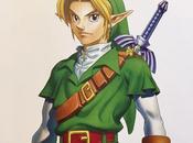 diseño Link Legend Zelda: Ocarina Time basó actor famoso