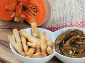 Hummus calabaza, picoteo sano delicioso