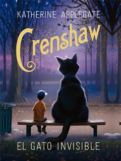Reseña | Crenshaw. El gato invisible ~ Katherine Applegate