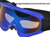 Modernos lentes tipo goggles para niños natación moda