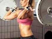 Fotos mujeres entrenando rutinas fitness