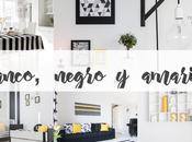 Home Tour: BLANCO, NEGRO AMARILLO
