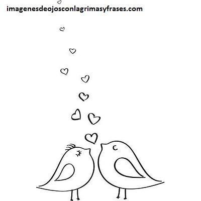 Cuatro Lindos Dibujos Del Amor Y Amistad Para Colorear Facil Paperblog