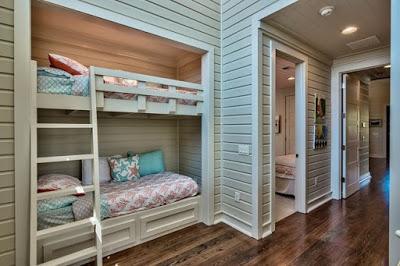 Dormitorios infantiles multiples en estilo rustico ii - Dormitorios infantiles rusticos ...
